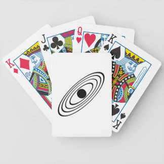 Solar System Bicycle Playing Cards
