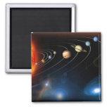"""""""Solar System"""" Refrigerator Magnet"""
