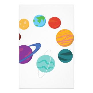 Solar System Stationery