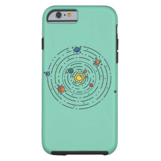 Solar System Tough iPhone 6 Case