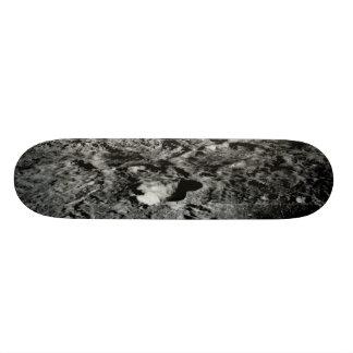 Solar System Voyager Images Lunar Surface Skateboard Deck