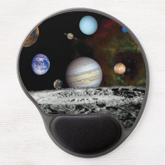 Solar System Voyager Images Montage Gel Mouse Mat
