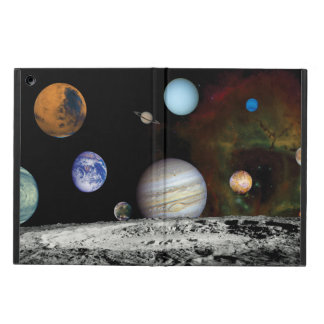 Solar System Voyager Images Montage iPad Air Covers