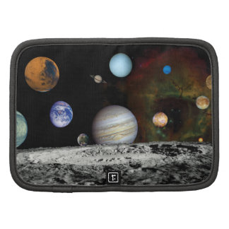 Solar System Voyager Images Montage Organizers