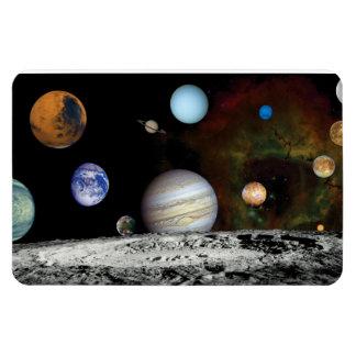 Solar System Voyager Images Montage Vinyl Magnets