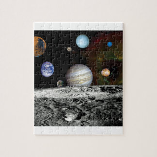 Solar System Voyager Images Montage Puzzle