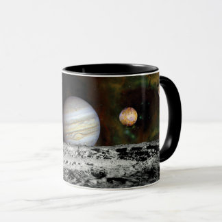 Solar System Voyager Images Montage Space Photos Mug