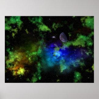 Solar System XC-593 Poster
