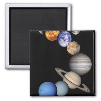Solar Sytem Montage 2 Inch Square Magnet