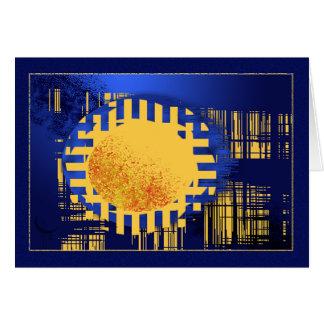 Solar Tarjeta De Felicitación