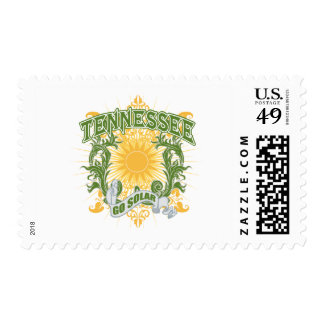 Solar Tennessee Postage Stamp