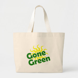 solar verde ida bolsa de tela grande