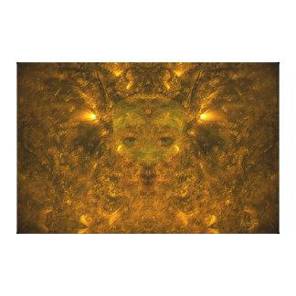 Solar Wind Goddess Canvas Print