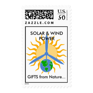 SOLAR & WIND POWER, GIFTS from ... Postage