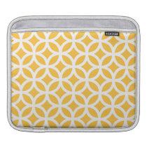 Solar Yellow Geometric Sleeve For iPads