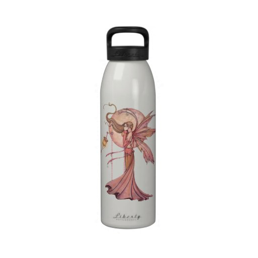 Solara Faerie Fairy Art Fantasy Water Bottle