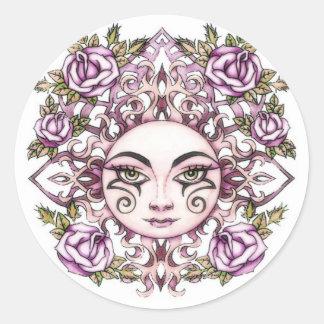 Solara Sun Goddess Sticker