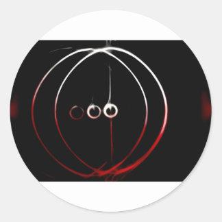SolarCircle Classic Round Sticker