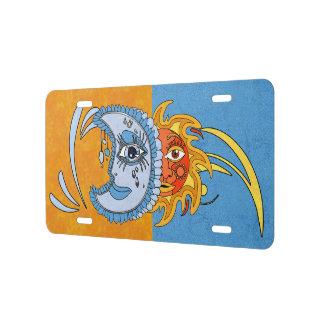SolarEclipse License Plate