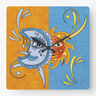 SolarEclipse Square Wall Clock