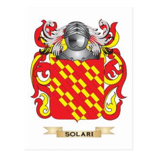 Solari Coat of Arms (Family Crest) Postcard