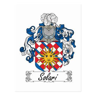 Solari Family Crest Post Card