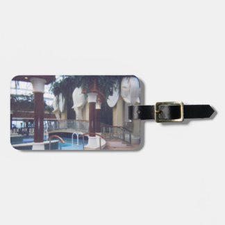 Solarium Personalized Luggage Tag