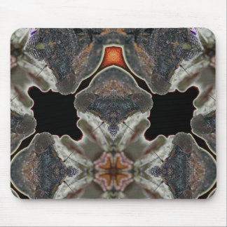 Solarized and Mirrored Cicada Gathering by KLM Mouse Pad