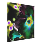 Solarized Hibiscus Abstract -Stretched Canvas Stretched Canvas Prints