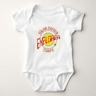 Solarly system Explorer Corps Baby Bodysuit