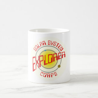 Solarly system Explorer Corps Coffee Mug