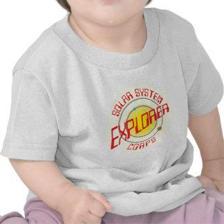 Solarly system Explorer Corps Tshirts