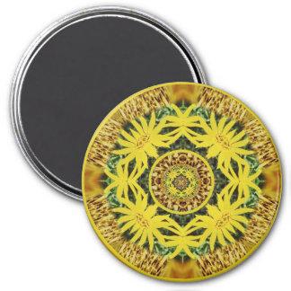 solarplexuschakramandala3 imán de frigorifico