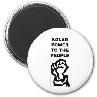 SolarPowerPeople 2 Inch Round Magnet