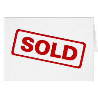 Sold Card
