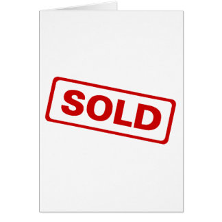 Sold Greeting Cards