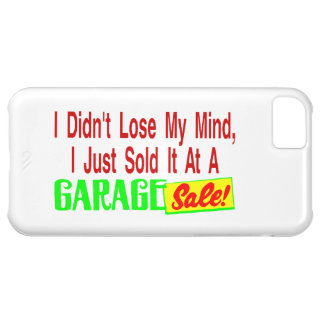 Sold My Mind At Garage Sale Case For iPhone 5C