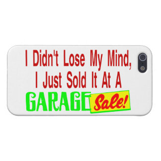 Sold My Mind At Garage Sale Case For iPhone SE/5/5s