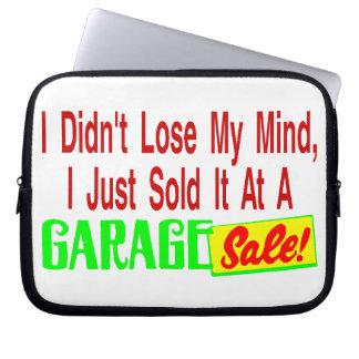Sold My Mind At Garage Sale Laptop Sleeve