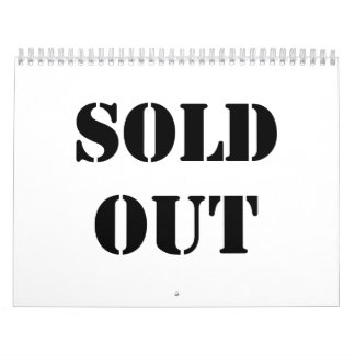 Sold Out Calendar
