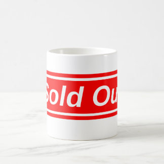 Sold Out Coffee Mug
