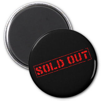 Sold Out Magnet