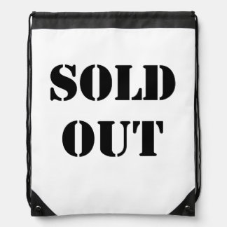 Sold Out Backpacks