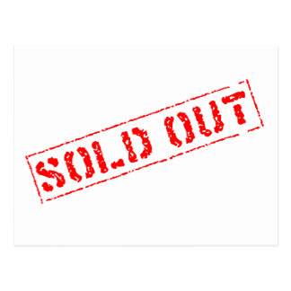 Sold Out Post Cards