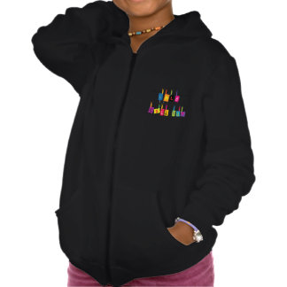 Sold Out Sign Girls Hoodie