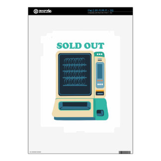 Sold Out iPad 2 Decals