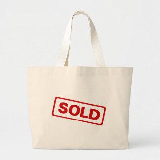 Sold Sign Large Tote Bag