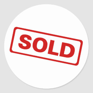 Sold Sign Stickers