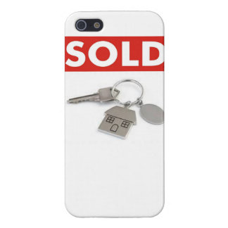 Sold Sign with Keys Case For iPhone 5