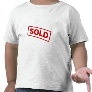 Sold T-shirts